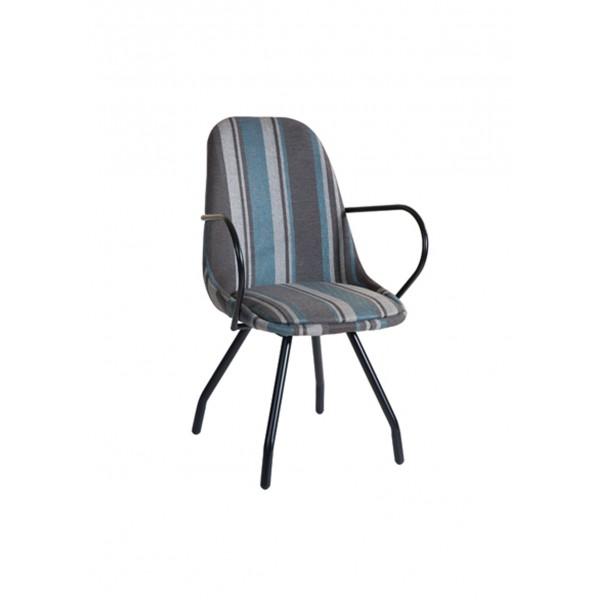 Πολυθρόνα με μεταλλικά πόδια 09-0002-2