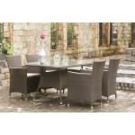 Τραπέζι φαγητού Wicker 03-0015