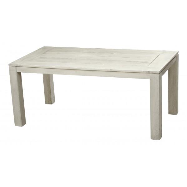 Τραπέζι παλαιωμένο λευκό 100Χ220